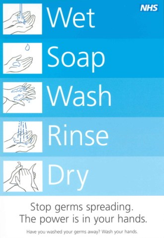 NHS hand washing