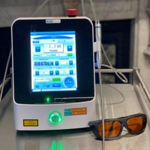 Elvii vascular laser