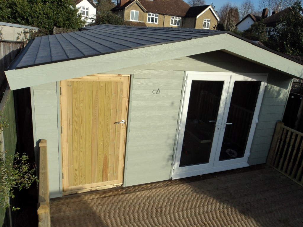 Garden Shed Easy Install