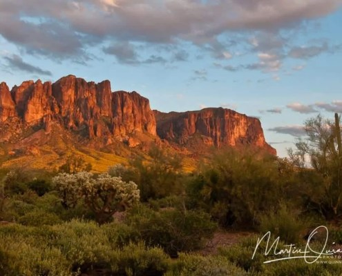 Lost Dutchman Sunset