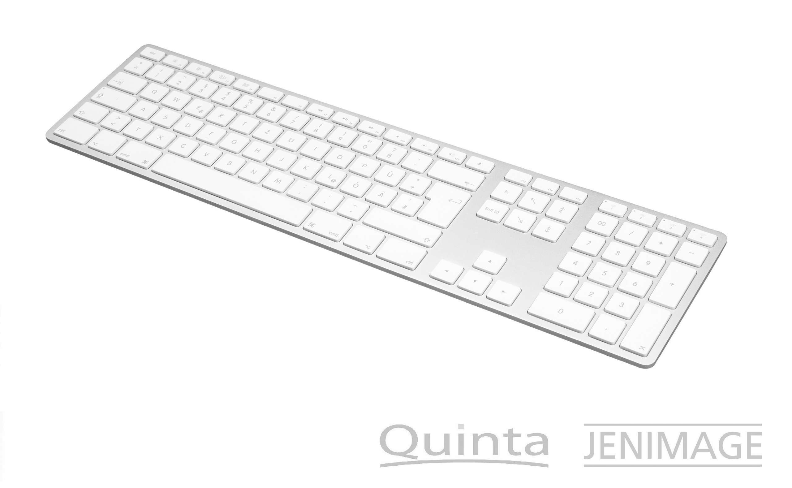 JENIMAGE Wireless Aluminium Keyboard