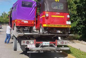 SINTRA infracciona mototaxis, urvans y transportes de carga