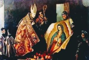Celebración de la virgen de Guadalupe, historia 12 de diciembre