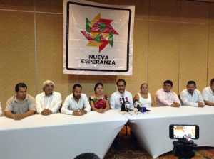 @RENÉ_BEJARANO_M le apuesta a 1 millón de afiliados a Movimiento Nueva Esperanza #MNE con respaldo de @Dolores_PL