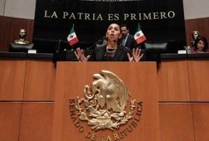 """""""Todos los mexicanos tenemos derecho a un empleo libre y digno"""": @MarybelVillegas"""