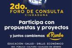 Convoca @ChakMeexJose a participar en 2o. Foro de Consulta 21 de septiembre en #Tihosuco