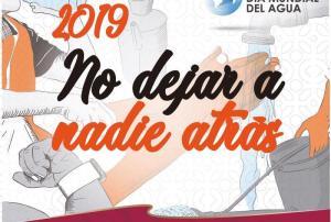La Conagua celebra el Día Mundial del Agua para No dejar a nadie atrás