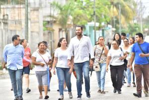 Arranca campaña el «Chato» por la diputación local en el Distrito 8