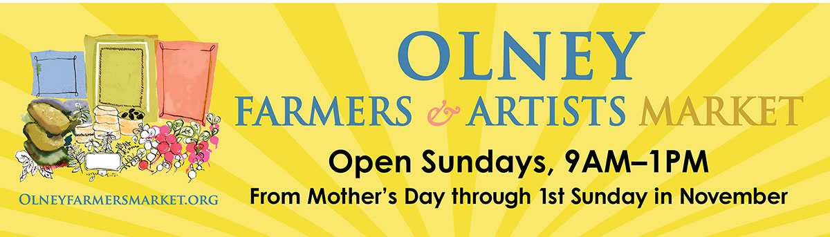 Olney Farmers Market banner