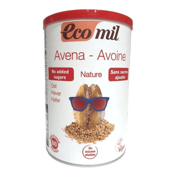 Bebida de avena en polvo instantánea Ecomil 400 g
