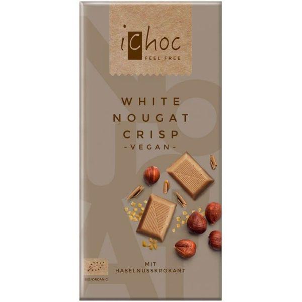 Chocolate vegano con avellana crujiente iChoc