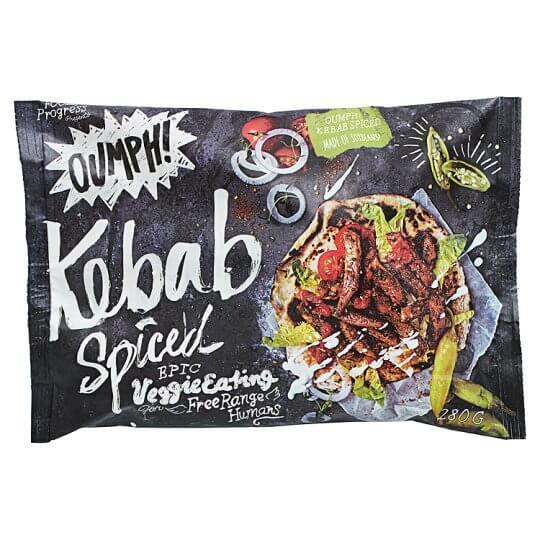 Kebab vegano especiado Oumph 280 g
