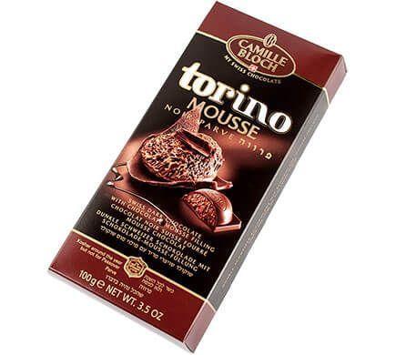 Camille Bloch chocolate vegano. Torino mouse noir, chocolate negro con relleno de mousse de chocolate. ¿Cómo te quedas? Yo me quedo gordivegan.