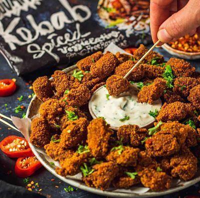 Kebab vegano Oumph