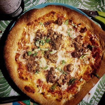 Pizza vegana con atún Good Catch