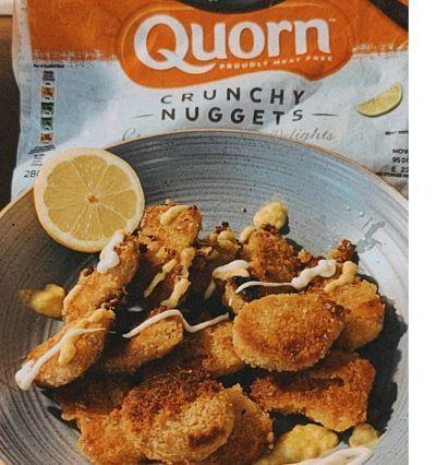 nuggets veganos crujientes quorn