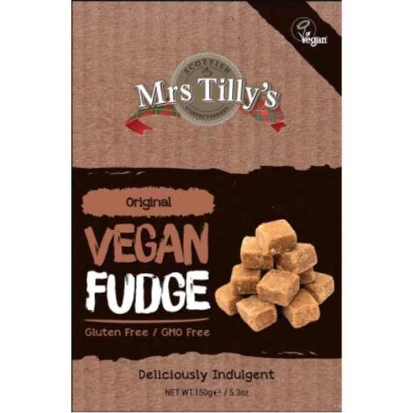 vegan fudge inglés