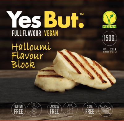 Queso halloumi vegano yes but