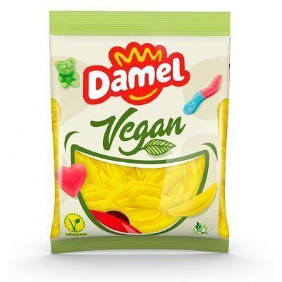 chuches veganas forma plátano