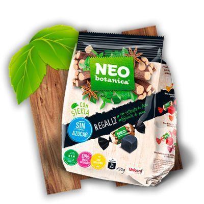 Caramelos de regaliz vegano, con stevia