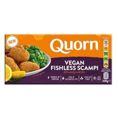 Gambas veganas empanadas Quorn