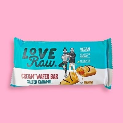 love raw salted caramel