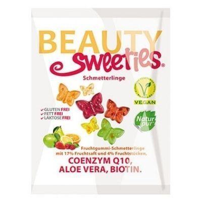 Gominolas veganas sin gluten con forma de mariposa