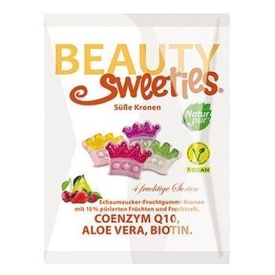 Gominolas veganas con zumo de fruta y forma de corona, de Beauty Sweeties