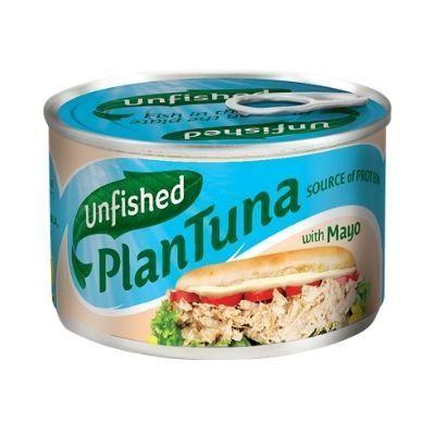 Atún vegano en lata con mayonesa, de Unfished Plantuna