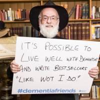 We'll miss you, Terry Pratchett