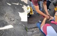 14 heridos deja atentado con granada en pleno centro de Barranquilla