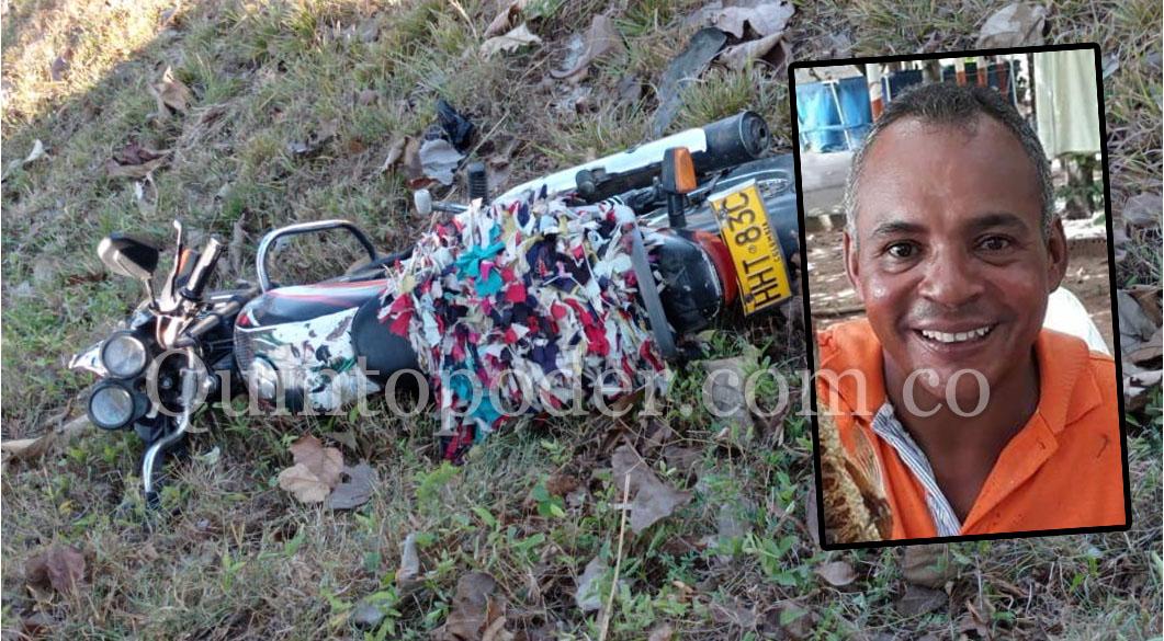 Motociclista perdió la vida en accidente de tránsito en La Jagua