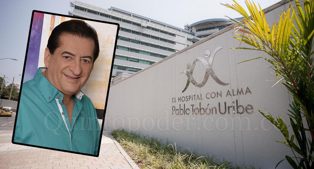 Jorge Oñate fue sometido a una primera intervención en Hospital de Medellín