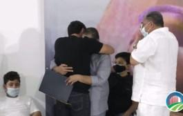 El último adiós de Silvestre Dangond a su padrino Jorge Oñate