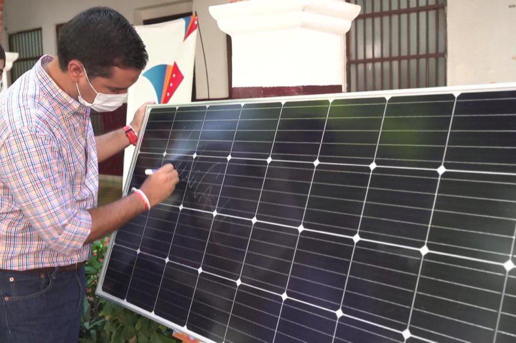 500 familias de la zona rural de Valledupar se beneficiarán con energía renovable