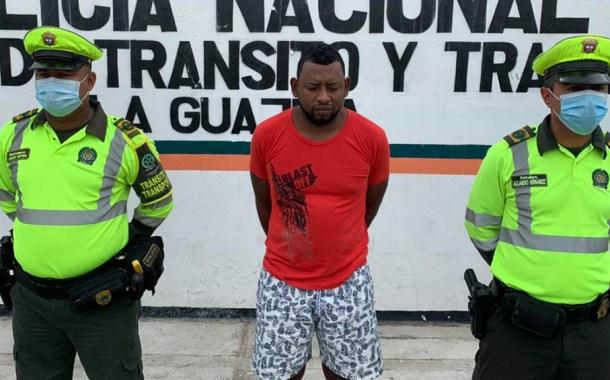 A la cárcel a alias 'Malayo', uno del cartel de los más buscados de La Guajira