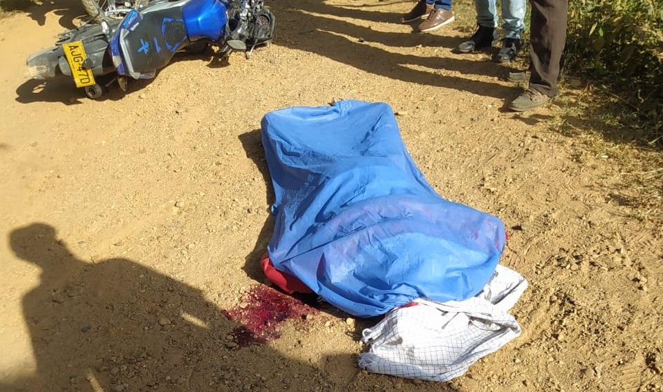 En Astrea, un motociclista murió en accidente de tránsito
