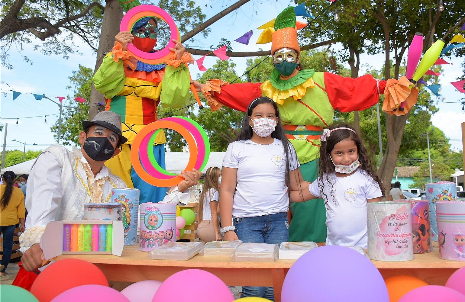 En la Feria de Mis Sueños, impulsaron las ideas creativas de los niños de Valledupar