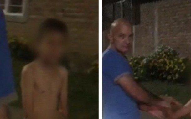 Insólito castigo del padrastro: niño fue obligado a caminar desnudo