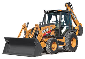 CASE Backhoe Loader ,  2013