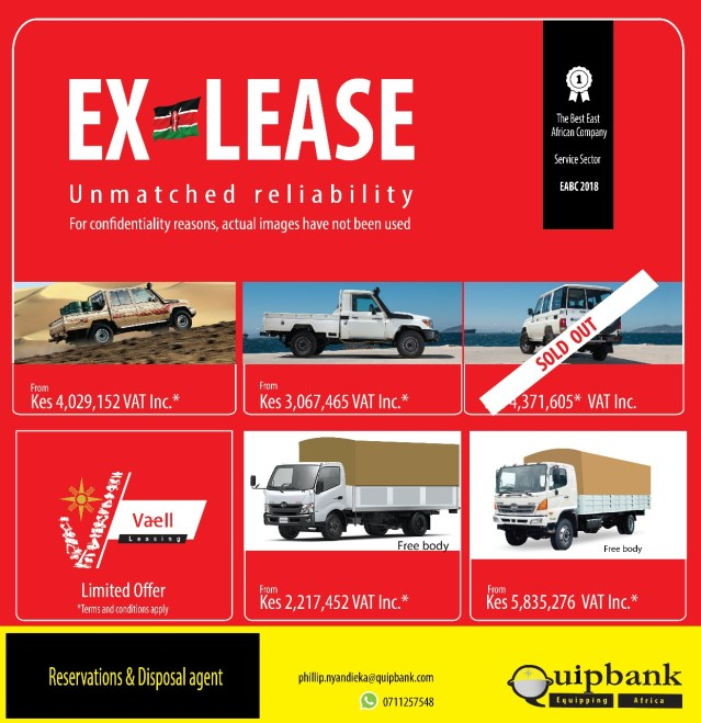 DISPOSAL OF EX-LEASE VEHICLES