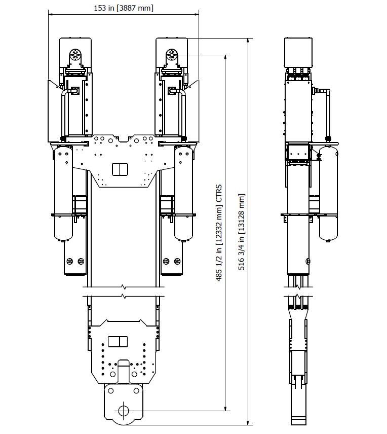 Compensator, Drill String, Shaffer type 600K x 25 ft