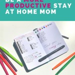 5 Secrets to Stay At Home Mom Productivity