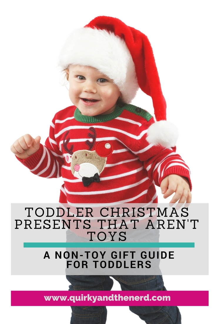 it is so easy to default to buying a kid a toy for the holidays - Christmas Presents For Toddlers