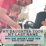How We Decided on Our Daughter's Last Name
