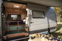 Camper Van Hire - Maidstone South East Angel Quirky