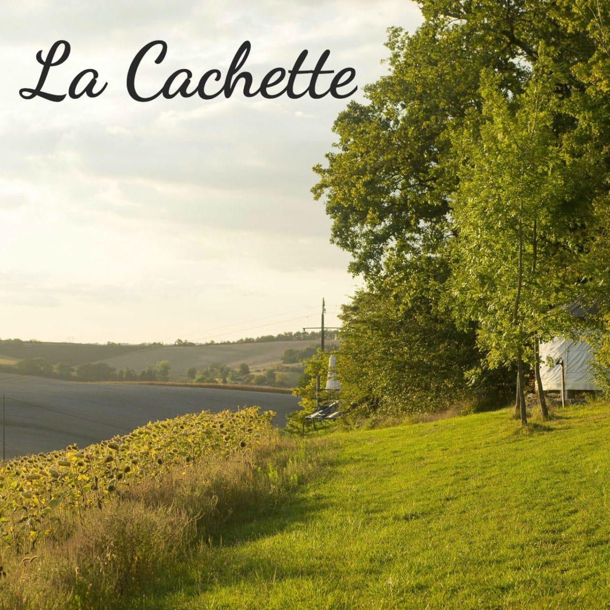 La Cachette page
