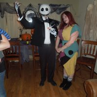 Jack Skellington and Sally DIY Costumes