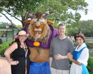 Beauty & Beast Quirky Chrissy and BRian