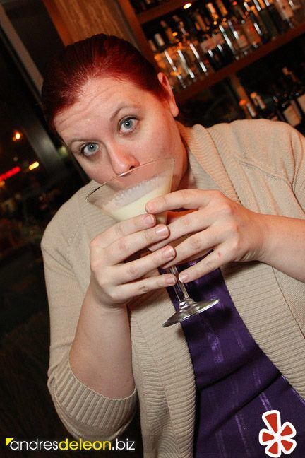 Yelp Egg Nog Rumchata Martini